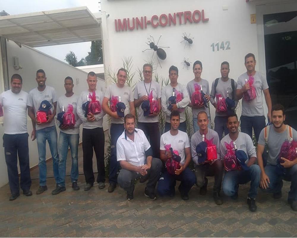 Equipe Dedetizadora Imuni Control